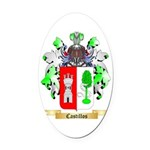 Castillos Oval Car Magnet