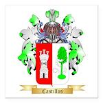 Castillos Square Car Magnet 3