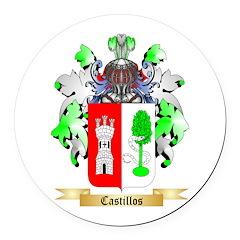 Castillos Round Car Magnet