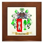 Castillos Framed Tile