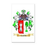 Castillo Rectangle Car Magnet