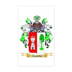 Castillo Sticker (Rectangle)