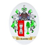Castillo Ornament (Oval)