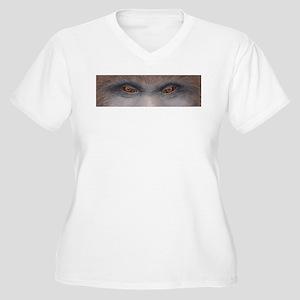 Sasquatch Eyes Plus Size T-Shirt