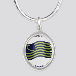 Down Syndrome Support Ribbon - Flag Necklaces