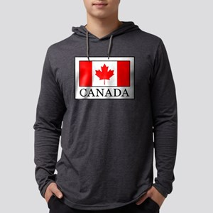 Canada Mens Hooded Shirt