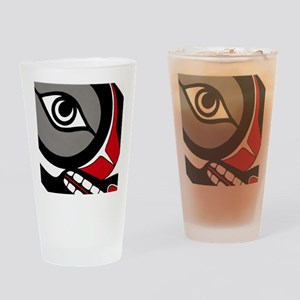 Kushtaka (Bigfoot) Drinking Glass