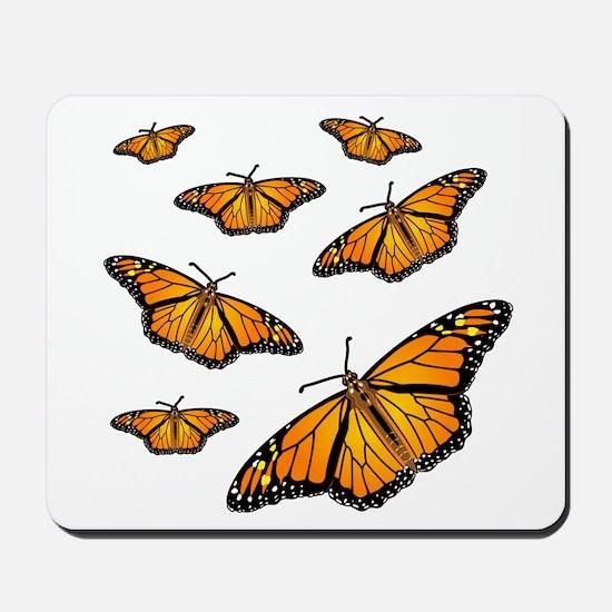 Monarch Butterflies Mousepad