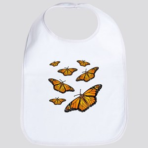 Monarch Butterflies Bib