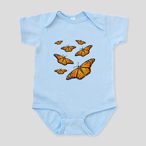 Monarch Butterflies Body Suit