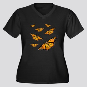 Monarch Butterflies Plus Size T-Shirt