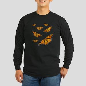 Monarch Butterflies Long Sleeve T-Shirt