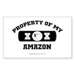 Team Amazon Rectangle Sticker