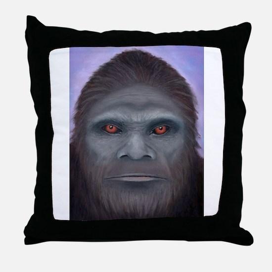 Bigfoot: The Encounter Throw Pillow
