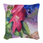 The Gardener Woven Throw Pillow