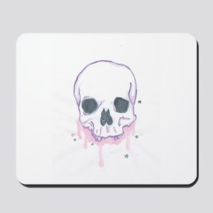 Girls Can Like Skulls Too Ya Know Mousepad