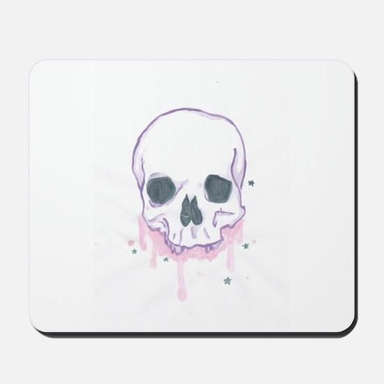 Girls Can Like Skulls Too Ya Know Mousepad