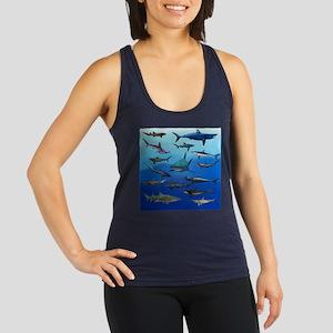 Shark Gathering Racerback Tank Top