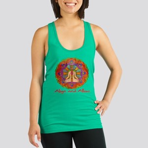 Align and Allow Racerback Tank Top