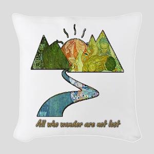 Wander Woven Throw Pillow