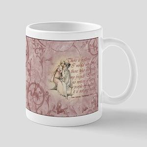 Jane Austen Friends Quote Mug