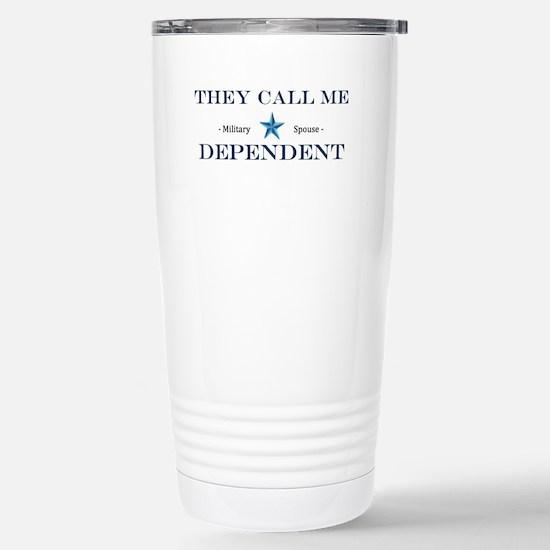 MIlitary Expressions (TCMD) LOGO Travel Mug