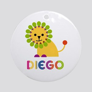 Diego Loves Lions Ornament (Round)