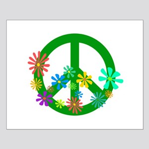 Blooming Peace Sign Posters