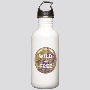 All Good Things are Wild and Free Water Bottle