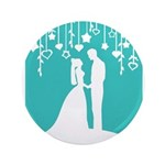 Bride and Groom silhouettes 3.5