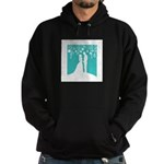 Bride and Groom silhouettes Hoody