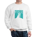 Bride and Groom silhouettes Jumper