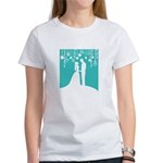 Bride and Groom silhouettes T-Shirt
