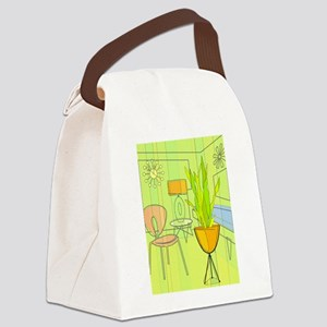 1960s 4 Canvas Lunch Bag