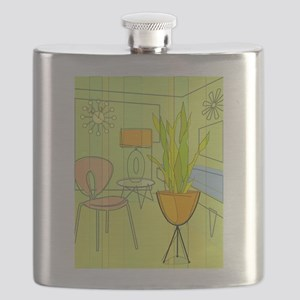 1960s 4 Flask