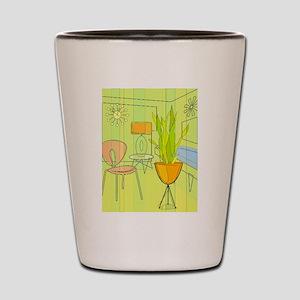 1960s 4 Shot Glass