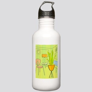 1960s 4 Water Bottle
