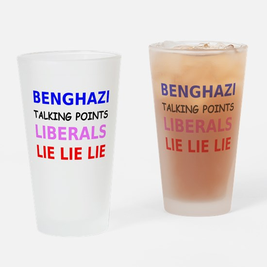 Benghazi Talking Points Liberals Lie Lie Lie Drink
