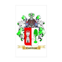 Castillejas Sticker (Rectangle 10 pk)