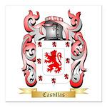 Castillas Square Car Magnet 3