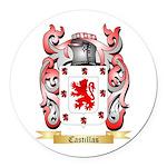 Castillas Round Car Magnet