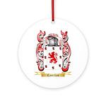 Castillas Ornament (Round)