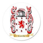 Castilla Round Car Magnet