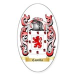 Castilla Sticker (Oval)