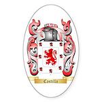 Castilla Sticker (Oval 10 pk)