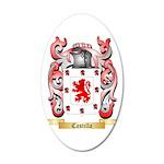 Castilla 20x12 Oval Wall Decal