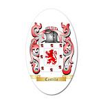 Castilla 35x21 Oval Wall Decal