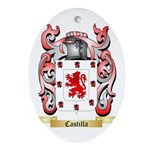Castilla Ornament (Oval)