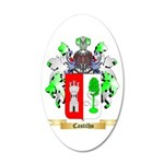 Castilho 20x12 Oval Wall Decal