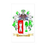 Castelluzzi Sticker (Rectangle 50 pk)